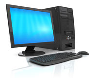 Home computer Royalty Free Stock Image