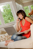 Home Computing Royalty Free Stock Photography