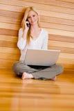 Home Computing Stock Photo