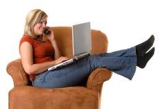 Home Computing stock photography