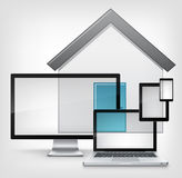Home Concept. Royalty Free Stock Images