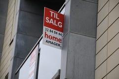 HOME OR CONDO  TILL SALE Stock Photo