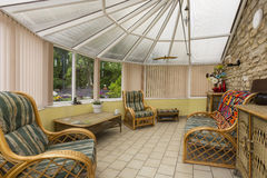 Home Conservatory Royalty Free Stock Photography