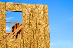 Home Constrction frame Up Close. Royalty Free Stock Photography