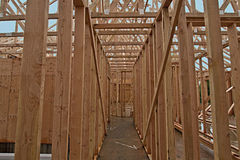 Home Construction Framing 2 Stock Photography