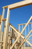 Home Construction Framing Royalty Free Stock Images