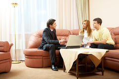 Home consulting Royalty Free Stock Photo