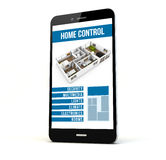 Home control phone Royalty Free Stock Photos