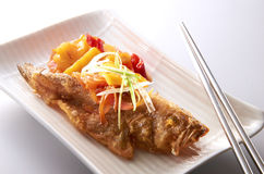 Home Cook Fish Royalty Free Stock Images