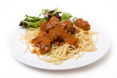 Home Cooked Meatballs Royalty Free Stock Photography