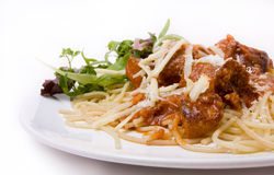 Home Cooked Meatballs Royalty Free Stock Images