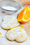 Home cookies with sugar Stock Photo