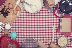 Home cooking baking header Stock Photos