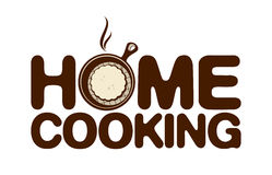 Home cooking icon. Stock Images