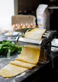 Home cooking for lasagna Stock Photography