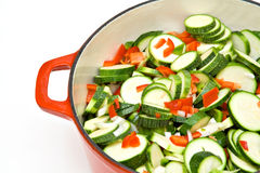 Home Cooking Vegetables Royalty Free Stock Photos