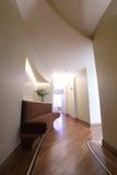 Home corridor. With wood floor Stock Photography