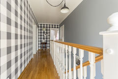 Home corridor in cottage style Royalty Free Stock Photo