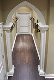 Home corridor with decorative metal details. Classic home corridor with decorative metal details Stock Photo