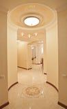 Home corridor with light, nobody. Stock Photography