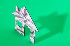 Home costs Stock Image
