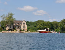 Home Cottage in Thousand Islands America Royalty Free Stock Photography