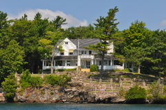 Home Cottage in Thousand Islands America Stock Photo