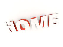 Home, cut out Royalty Free Stock Photography