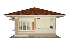 HOME 3d Imagem de Stock