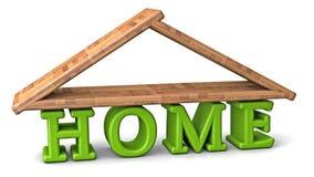 HOME 3d Fotos de Stock