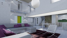 Home 3d design Royalty Free Stock Photography