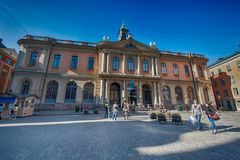 HOME da academia sueco Imagens de Stock Royalty Free