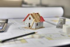 HOME da construção Imagem de Stock Royalty Free