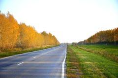 A HOME da estrada Imagens de Stock Royalty Free