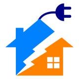 HOME da potência Imagem de Stock