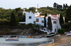 Home of Dali at  Cadaques Stock Image