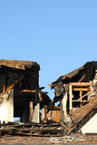 Home Damaged by Fire Royalty Free Stock Photos