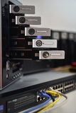 Home Data Center Server Rack Stock Photo
