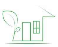 HOME de Eco Fotografia de Stock