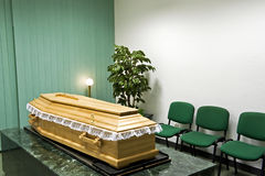 HOME de funeral fotografia de stock royalty free