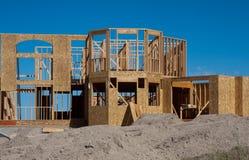 HOME de gama alta sob a construção Imagens de Stock Royalty Free