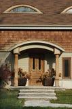 HOME de madeira da guarnição Imagens de Stock Royalty Free