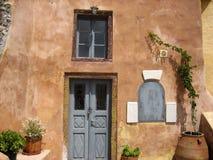 HOME de Santorini Imagens de Stock