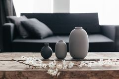 Free Home Decor In Scandinavian Interior Royalty Free Stock Images - 113789549
