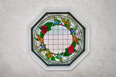 Home Decor - Stained Glass Window Stock Images