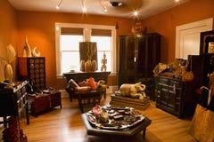 Home decor store. stock photo