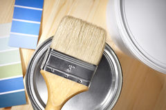 Home decorating concept stock photo