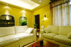 Home decoration. Beijing, China, the modern home decoration and fitting-out Royalty Free Stock Photos