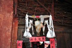 Home decoration, Ethnic minority Village. Yunnan China stock photo