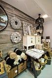 Home decorations shop interior Royalty Free Stock Photos